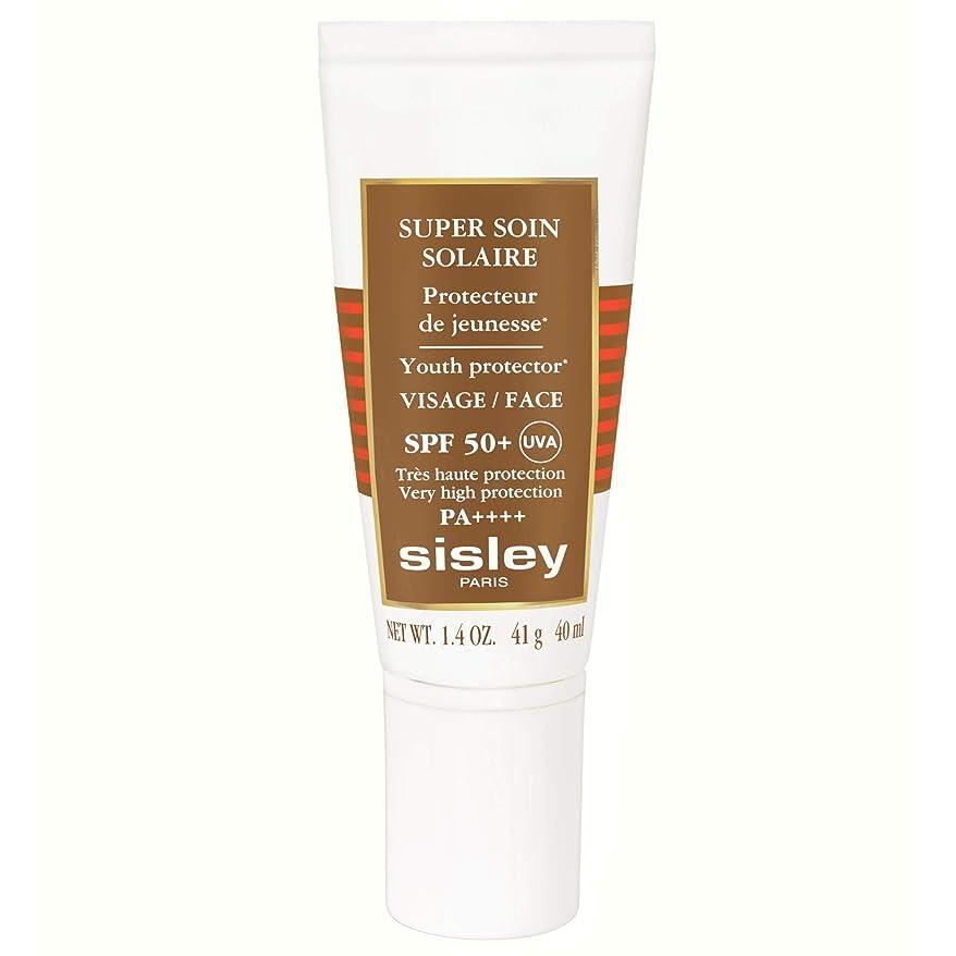 チャネル十代森[Sisley] シスレースーパーSoinフェイシャル日クリームSpf50 + 40ミリリットル - Sisley Super Soin Facial Sun Cream Spf50+ 40ml [並行輸入品]