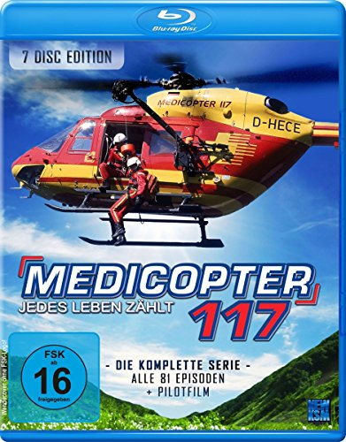 Medicopter 117 - Jedes Leben zählt - Gesamtedition - SD on HD [Blu-ray] [Limited Edition]