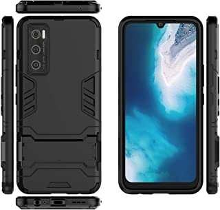 Vivo V20 SE Case, Vivo Y70 Case, Gift_Source Slim Phone Case Hybrid Soft TPU Silicone Bumper and Hard PC Back Cover Shockp...