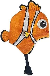 Pixar Finding Nemo Knit Hat Children's Disney Fleece Lined Cap with Ear Flaps