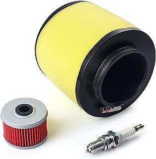 Paddsun FOR Air Filter, Oil Filter & Spark Plug Honda Fourtrax 300 2x4 & 4x4 TRX300 / FW