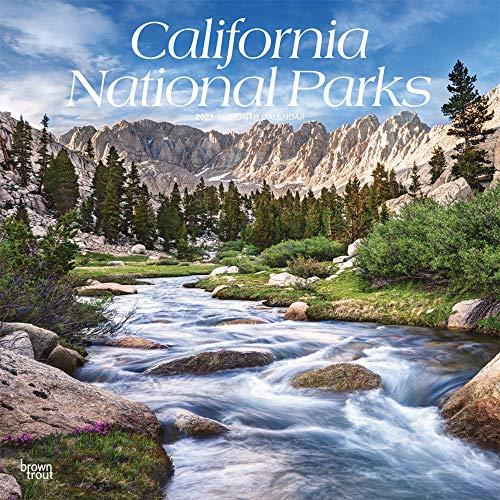 California National Parks - Kalifornische National Parks 2021 - 16-Monatskalender: Original BrownTrout-Kalender [Mehrsprachig] [Kalender] (Wall-Kalender)