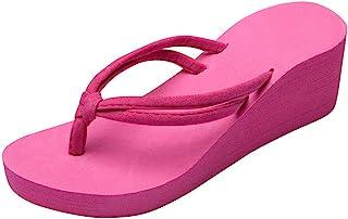 Sandalias de Verano para Mujer Plataformas Chanclas Correa de Tobillo Sandalias Punta Abierta Antideslizantes Zapatos de P...