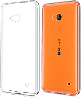kwmobile Crystal Case for Microsoft Lumia 640 - Soft Flexible TPU Silicone Protective Cover - Transparent