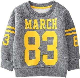 Fairy Baby Kids Winter Fleece Outfit Sweatshirt Thick Warm Baby Boy Girl Pullover Shirt