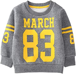 Fairy Baby Kids Winter Fleece Outfit Sweatshirt Thick Warm Baby Boy Girl Pullover Shirt