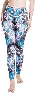 Qootent Women Yoga Pants Print Gym Running Fitness Leggings Athletic Trousers