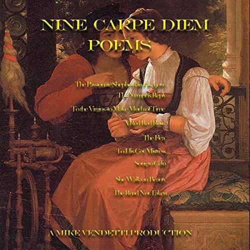 『Nine Carpe Diem Poems』のカバーアート