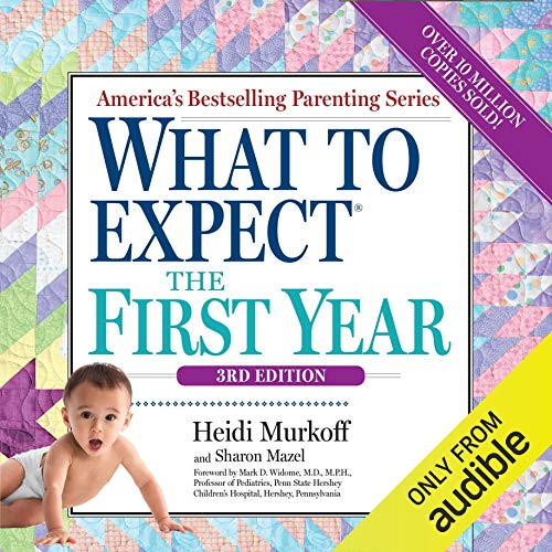 What to Expect the First Year audiobook cover art