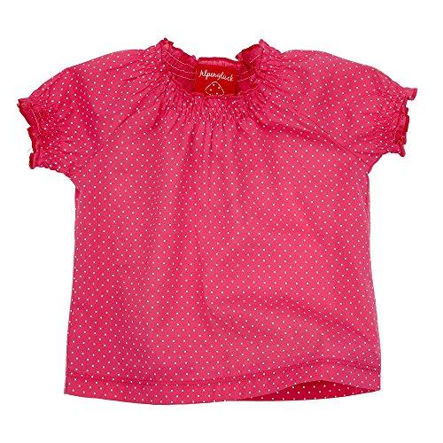 BONDI Kidswear BONDI Unterziehshirt, Punkte pink 68 Tracht Baby Mädchen Artikel-Nr.85606