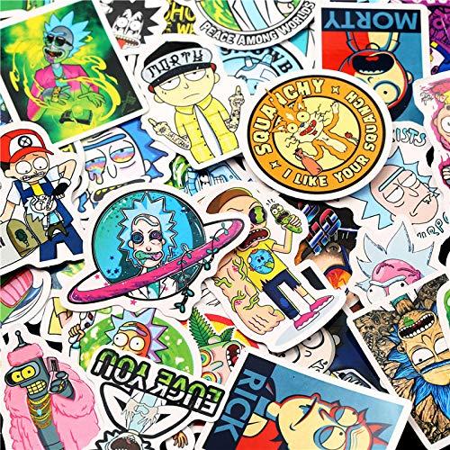 10/30/50pcs/bag waterproof cartoon sticker skateboard suitcase guitar luggage laptop sticker kids classic toy-30ps