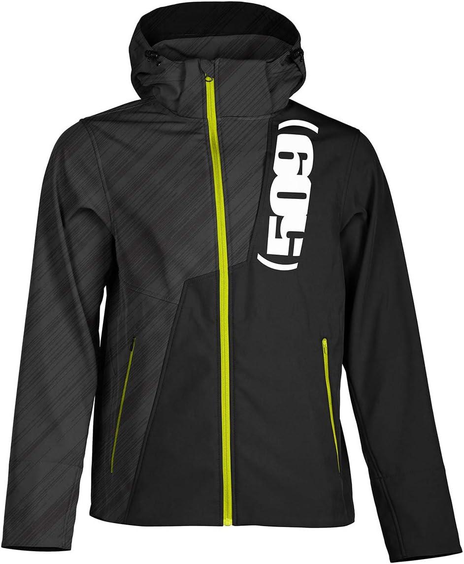 509 Tactical Softshell Jacket (Black Ops Hi-Vis - Medium)