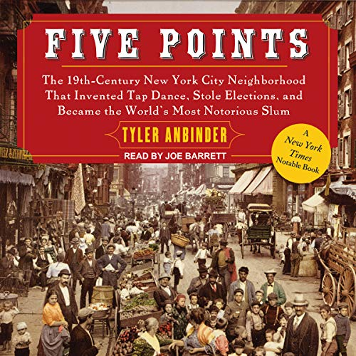Five Points audiobook cover art