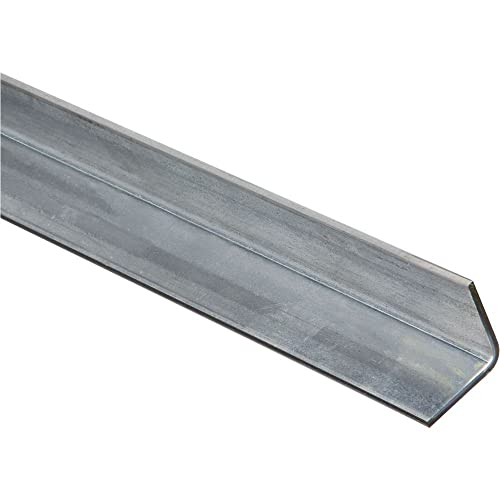 Value Collection 3//16 Inch Thick x 1-1//2 Inch Wide Aluminum Solid Angle 48 I...