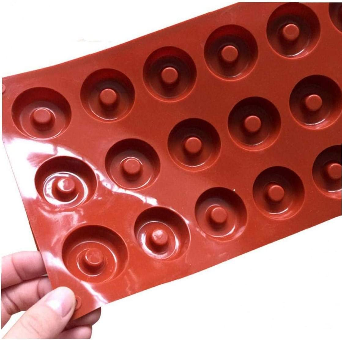 18 Cavity Silicone Donuts Mold Cake Biscuit We OFFer at cheap prices Cupcake Indefinitely Chocolate Do