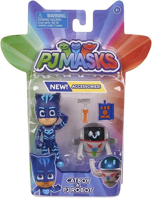 PJ Masks - Pack de 2 Figuras (GATUNO Y PJ ROBOT)) : Amazon.es ...