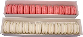 Macarons - Pink and White