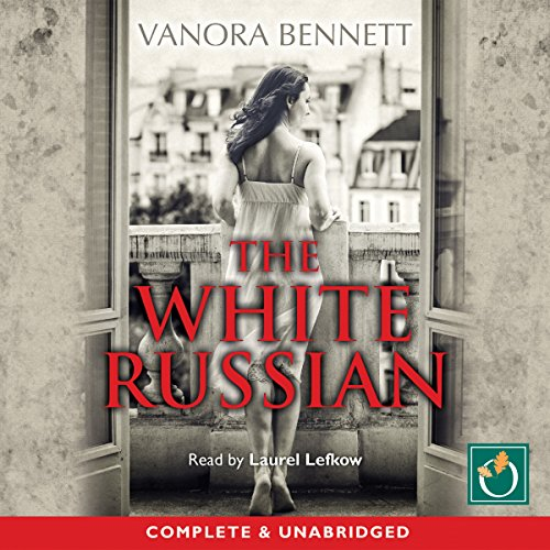 The White Russian audiobook cover art