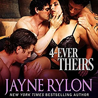 4-Ever Theirs     Four to Score, Book 1              By:                                                                                                                                 Jayne Rylon                               Narrated by:                                                                                                                                 Gregory Salinas                      Length: 2 hrs and 47 mins     89 ratings     Overall 4.2