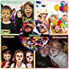 Truccabimbi Kit Trucco Viso Bambini Trucchi Carnevale Viso Trucco Colori per Halloween, Pasqua, festa a tema, Natale-16 Pittura Colori, 2 Glitter, 3 pennelli, 2 pennelli per ombretti, 2 spugne… #3