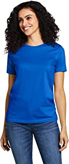 Lands' End Women's Petite Supima Cotton Short Sleeve...