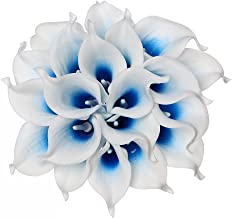 Best blue and white artificial flowers Reviews