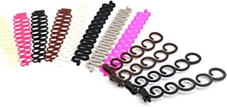 Oopsu 12 Pack Hair Braiding Tool Magic Hair Twist Styling Accessories French Centipede Braiders Hair Styling Clip