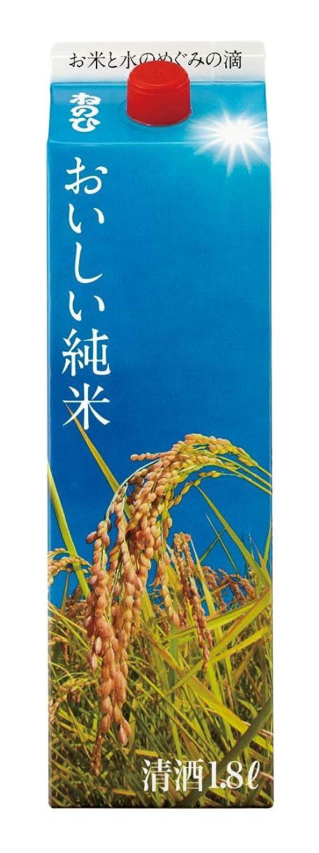 歌うお別れ落ち着く盛田 ねのひ おいしい純米 [ 日本酒 1800ml ]