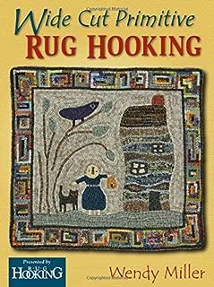 Wide Cut Primitive Rug Hooking