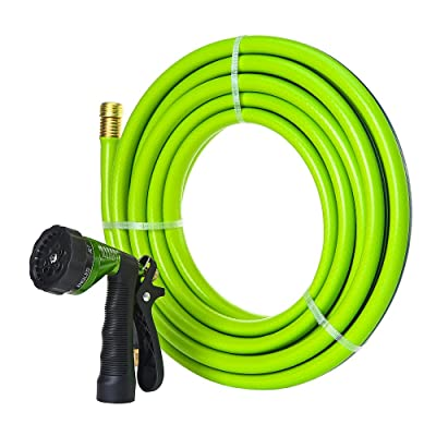 GREEN MOUNT Garden Hose 25 Feet with 5/8 Solid ...