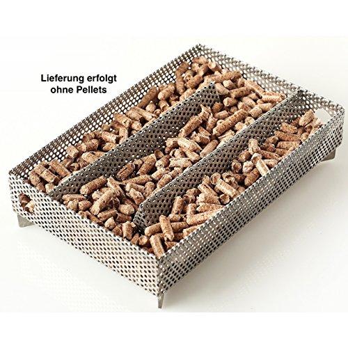 RUMO Barbeque Pellet Smoker A-Maze-N Räucherbox ca. 20,5 x 14 x 5 cm AP-PS