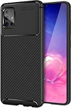 Lustree Rugged Armour TPU Military Grade Back Cover Case For Samsung Galaxy M31s Black