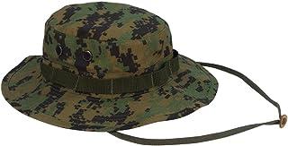 (ロスコ)Rothco 米軍 ブーニーハット Boonie Hat ウッドランドデジタルカモフラージュ L