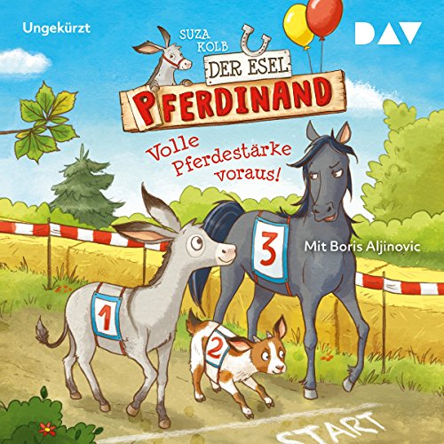 Volle Pferdestärke voraus! audiobook cover art