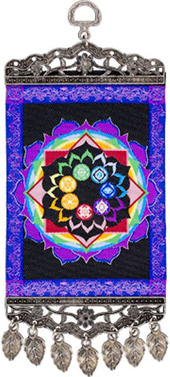 Kheops International - Wall Hanging Carpet Chakras (63379)