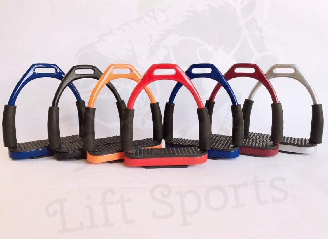 Lift Sports 4.75 Inch Horse English Safety Stirrups Spring new work Riding Award-winning store Irons