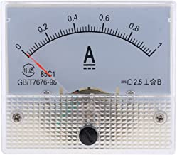 LOVIVER 2 X Panneau De Courant Amp/èrem/ètre Amp/èrem/ètre Analogique En Plastique