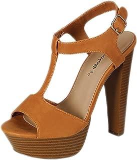 breckelles platform sandals