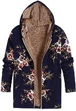 FEDULK Clearance Sale Women's Coat Winter Warm Hooded Plus Size Vintage Jacket Parka Outwear Outerwear
