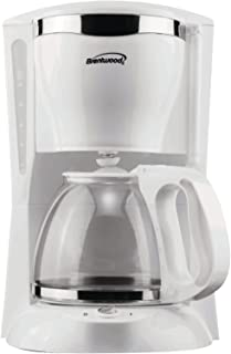 Brentwood TS-216 Coffee Maker, 12-Cup, White