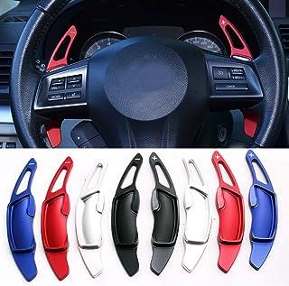 per Subaru XV 2012-2019 Dmwfaker Auto Estrattori per Volante Aluminium Comandi del Cambio Shift Paddle Spostamento