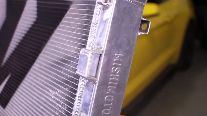 Mishimoto Silver MMRAD-MUS4-15 Ford Mustang EcoBoost Performance Aluminum Radiator