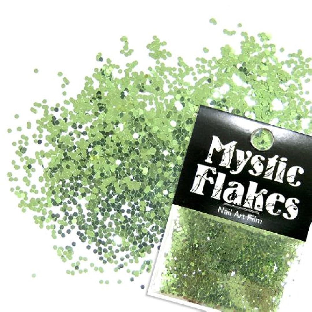 悪い修羅場専門化するミスティックフレース ネイル用ストーン メタリックLtグリーン ヘキサゴン 1mm 0.5g