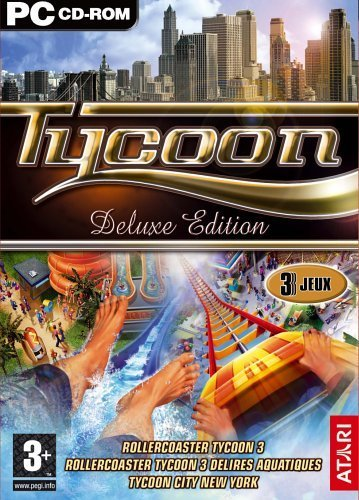 Tycoon - Rollercoaster Tycoon 3/Soaked/Tycoon City [DVD-Rom]