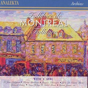 Folklore de Montréal
