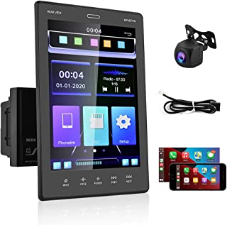 $127 » UNITOPSCI Double Din Car Stereo 9.5'' Vertical HD Touch Screen Car MP5 Player FM Radio Receiver Support D-Play Bluetooth M...