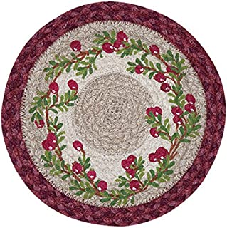 Earth Rugs 80-390C Trivet, 10-Inch, Red
