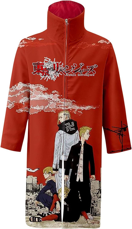 Unisex Tokyo Revengers Robe Draken Mikey 3D Max Bombing free shipping 68% OFF Jacket Anime Print C
