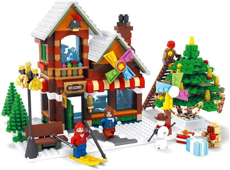 GLJJQMY Puzzle De Montaje De Bloques De Construcción Tienda Tienda Tienda De Juguetes Juguetes De Bricolaje Niños Bloques De Construcción De Juguetes Juguetes educativos para Niños  nueva gama alta exclusiva