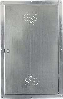 Maggini - Puerta para contador de gas de acero inoxidable, 600 x 400 mm